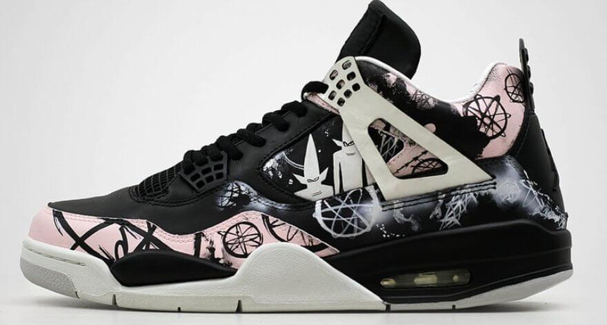 Los costume sneakers más atractivos y artísticos