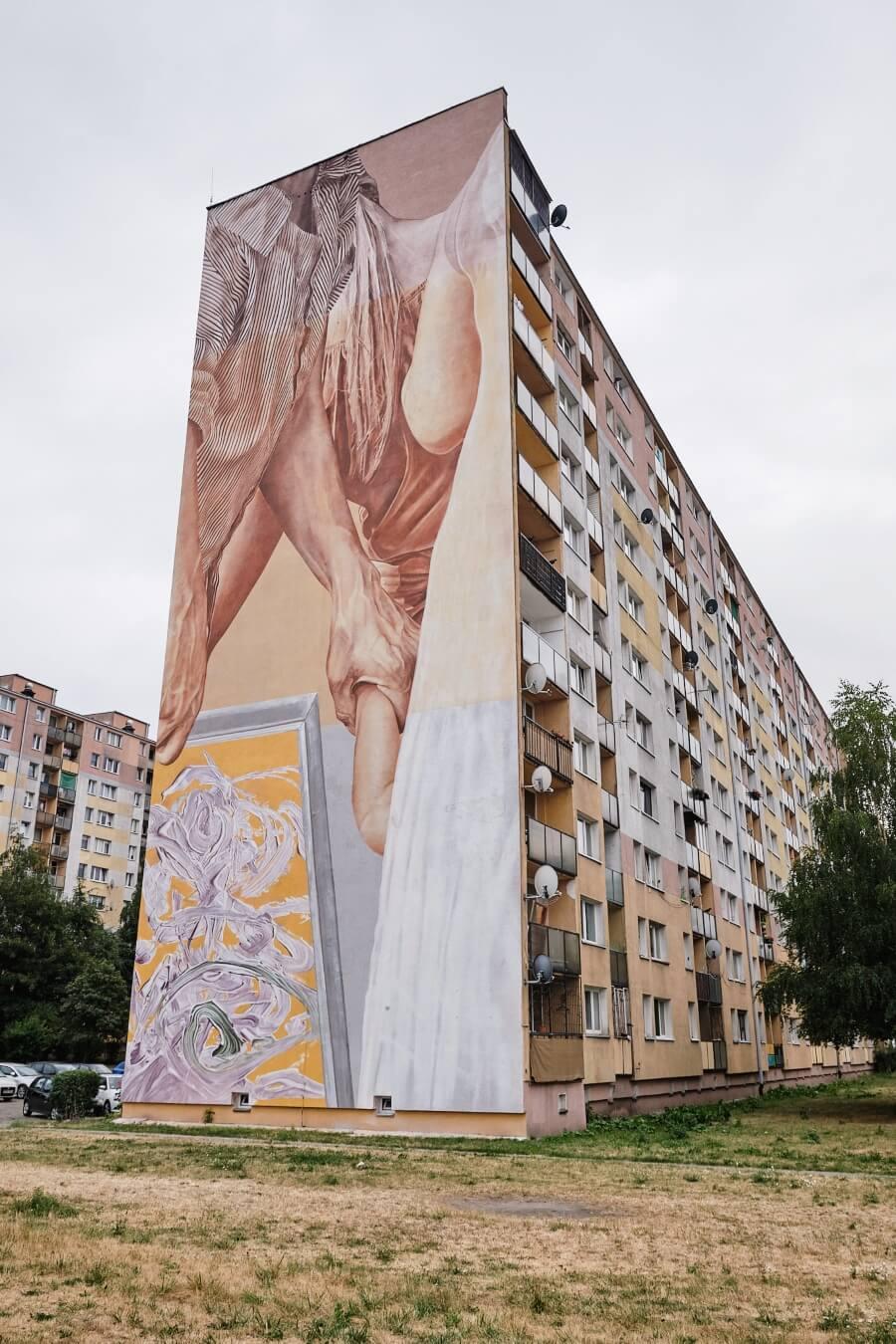 Nuevos murales en Lodz