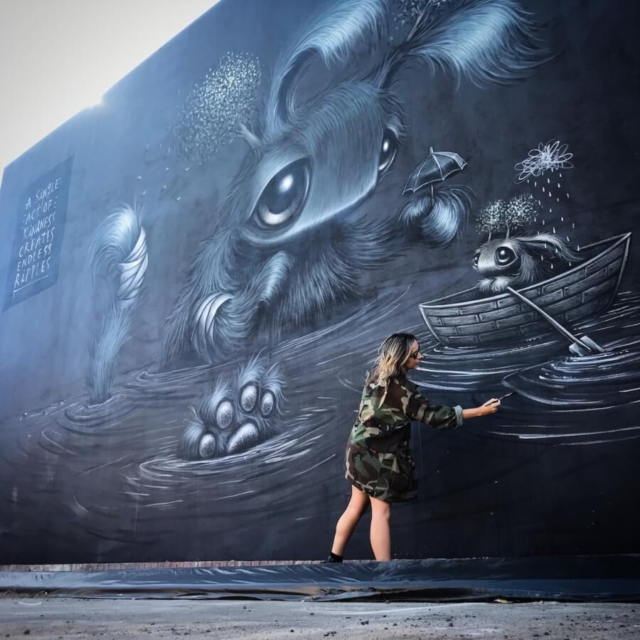 Hayley Welsh y su fauna fantástica