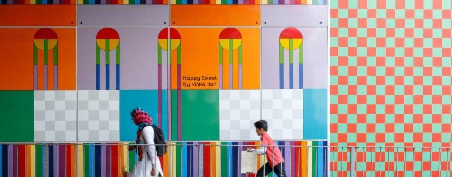 Diseño colorido por Illori en Londres