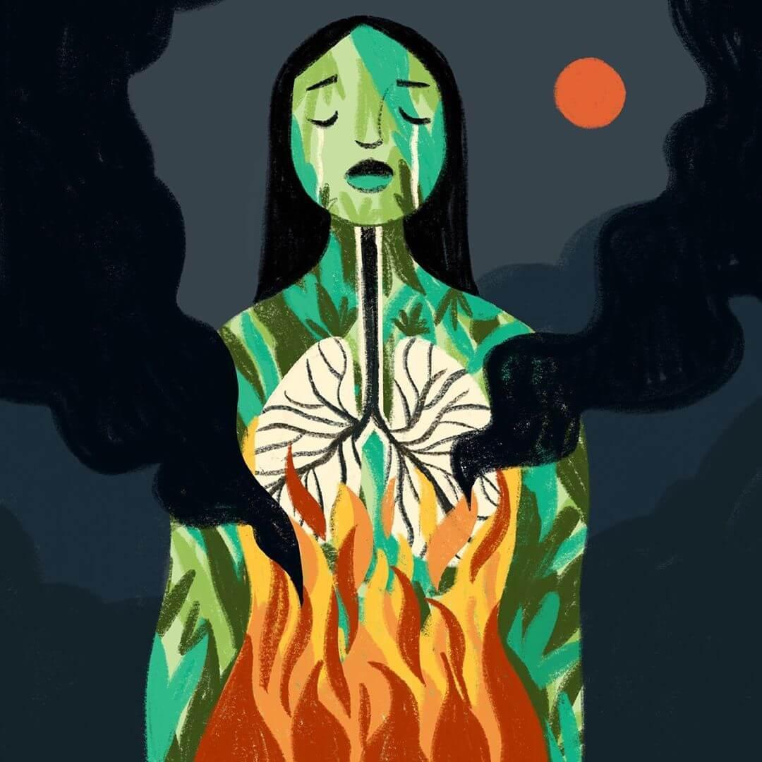 ilustración de Giovana Medeiros