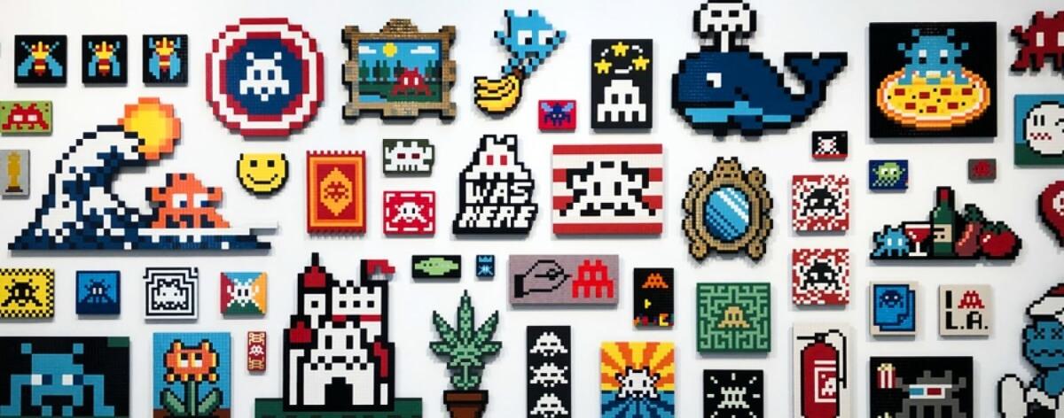 Space Invader y sus obras más destacadas