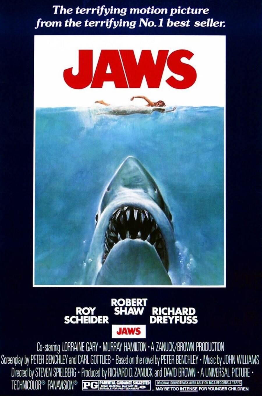 """Josy Thomas rediseña el poster de """"Jaws"""""""
