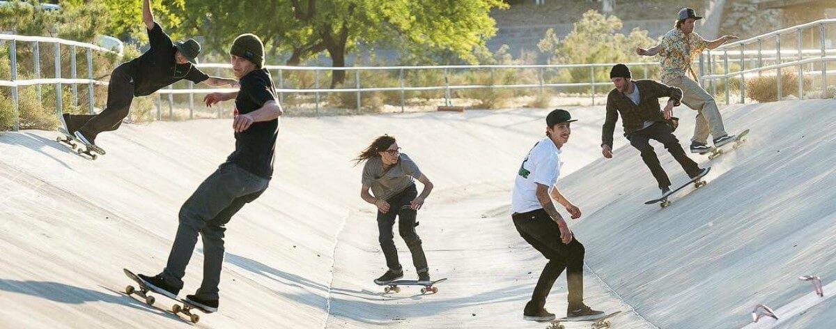Joe Brook, el fotógrafo que mezcla skate y su contexto