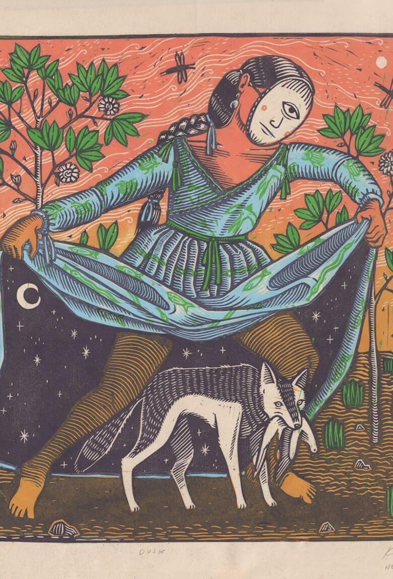 Kathleen Neeley y su obra de ilustración y grabado