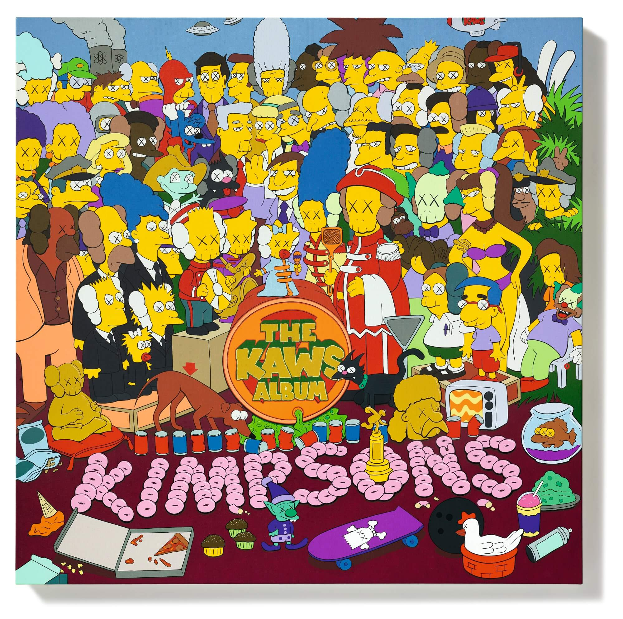The KAWS Album KIMPSONS