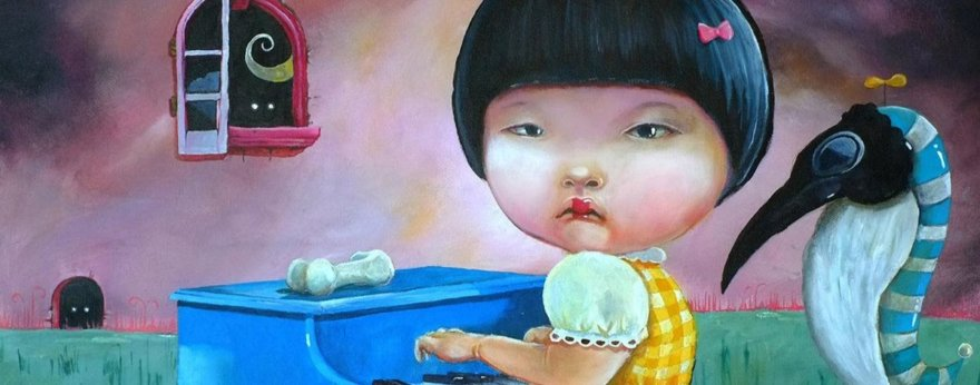 Obras de Konan Lim y la nostalgia surrealista