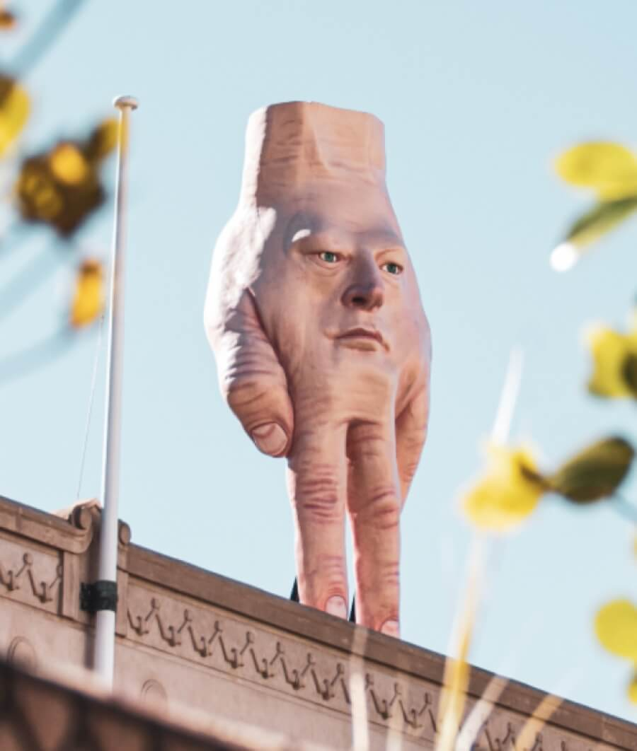 La escultura que está aterrorizando Nueva Zelanda