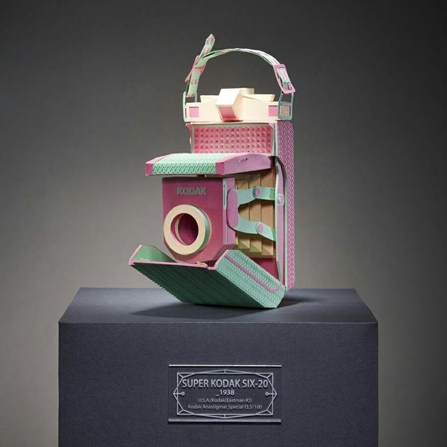 Lee Ji-Hee y sus increíbles obras de papel