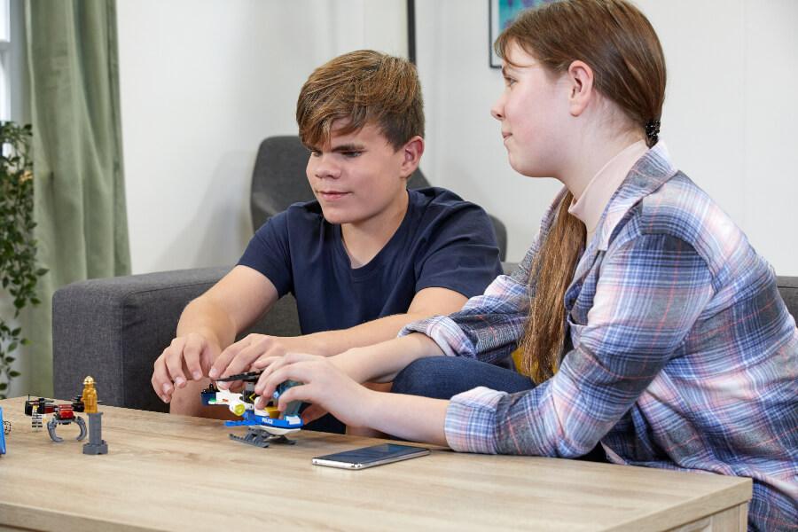instrucciones de lego en braille para invidentes y lego en braille