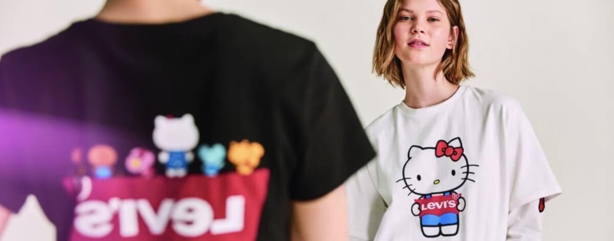 Levis y Hello Kitty lanzan nueva colección streerwear