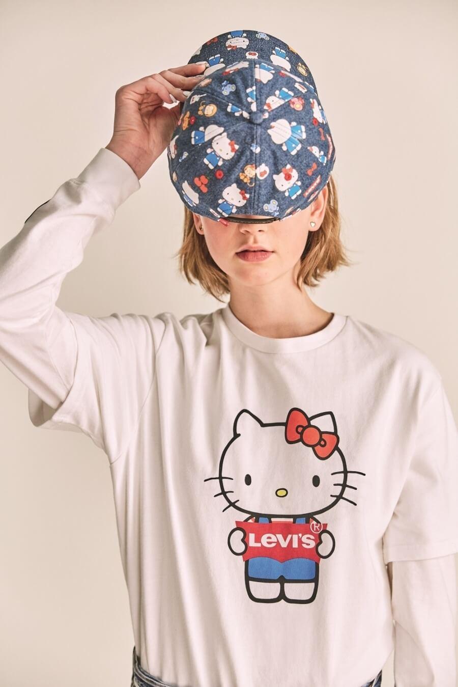 Levis y Hello Kitty lanzaron nueva colección