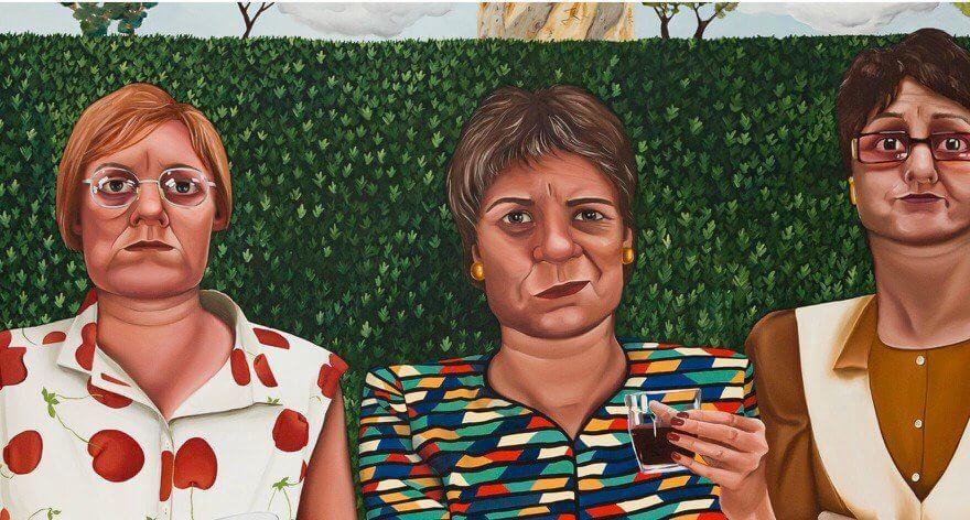 Madeleine Pfull y la vida de la mujer adulta en pintura