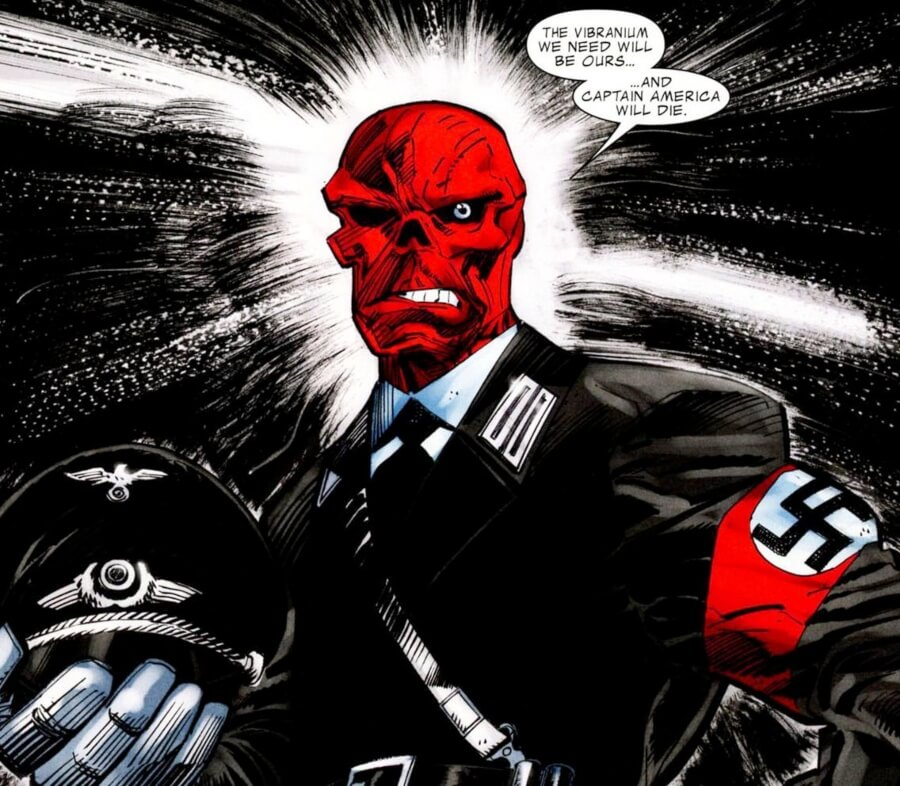 Donald Trump y Red Skull