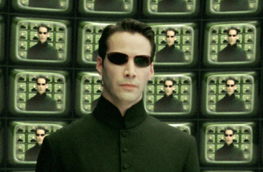 KEanu Reeves en Matrix