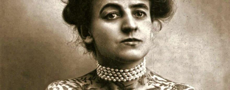 Maud Stevens Wagner, la primera mujer tatuadora