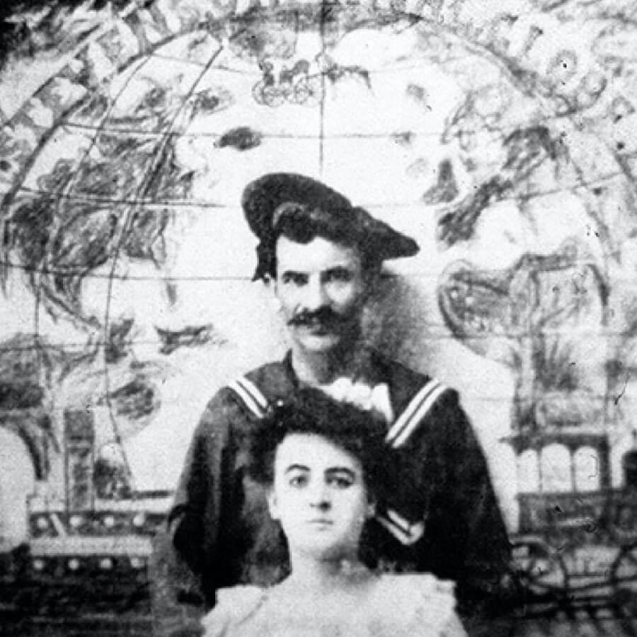 Maud Stevens Wagner la primer mujer tatuadora