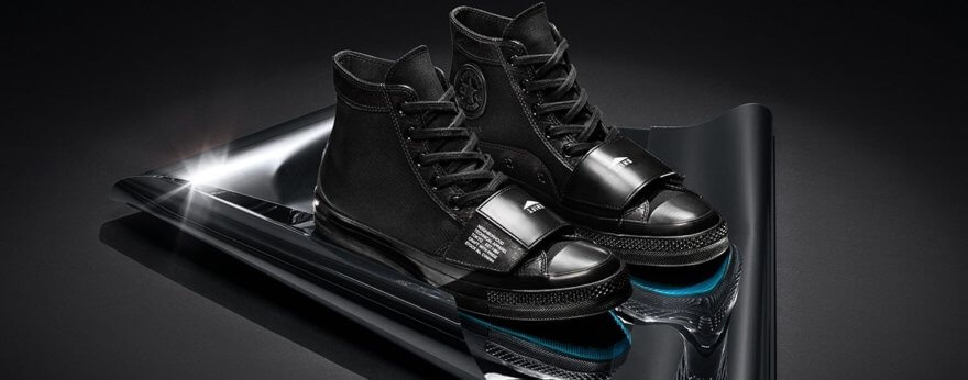 NEIGHBORHOOD y Converse: sneakers para motociclistas