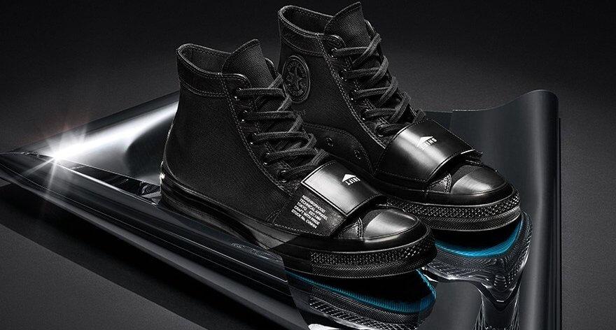 NEIGHBORHOOD y Converse: sneakers para motociclistas