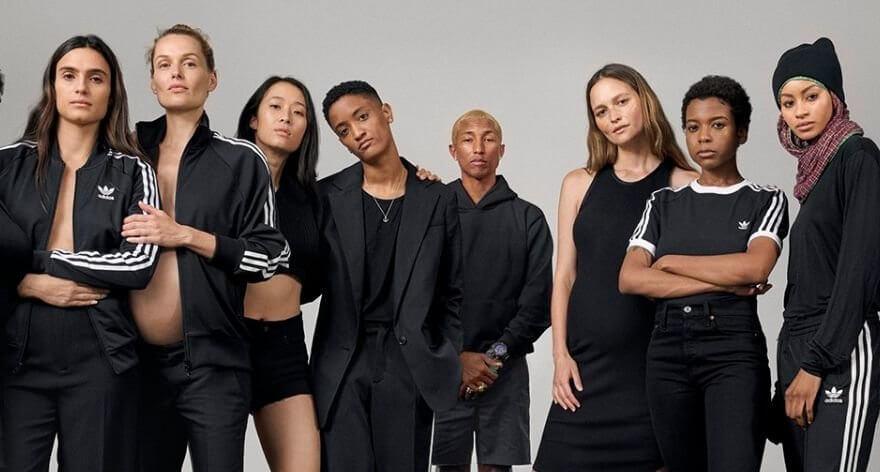 Colección de Pharrell y adidas celebra el poder femenino