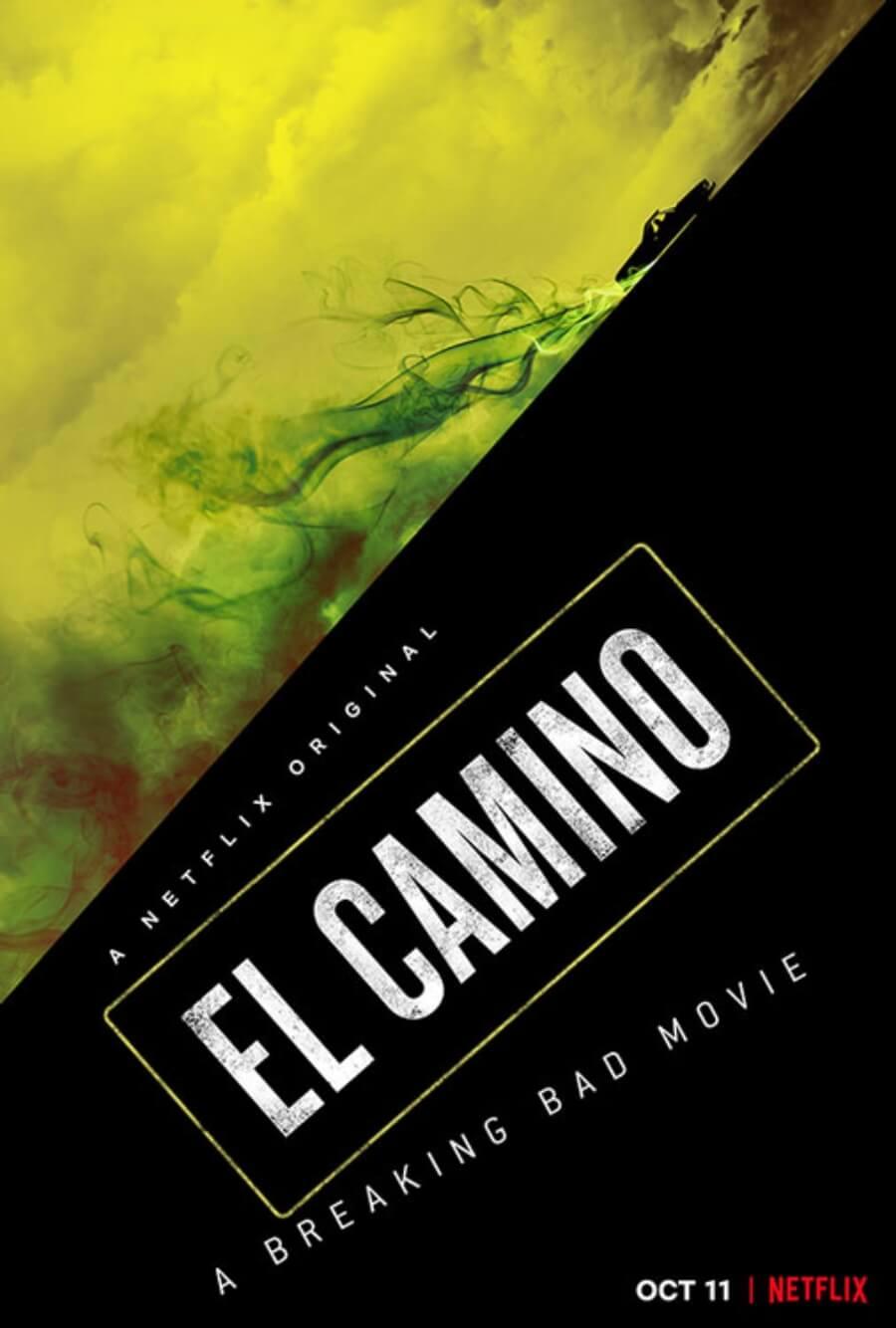 """Poster oficial de """"El Camino"""", la película de Breaking Bad"""