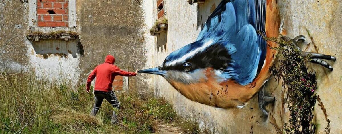 Odeith y su muralismo realista en tercera dimensión
