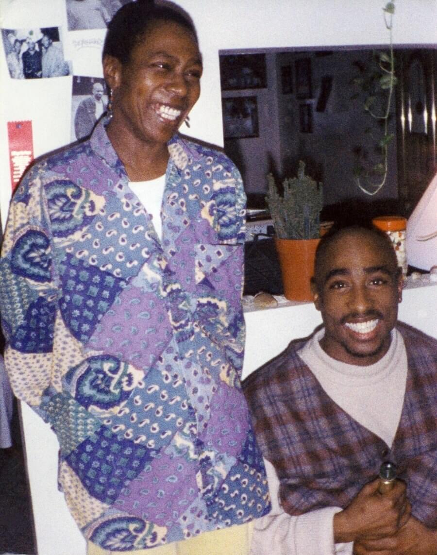 Adeni y Tupac Shakur