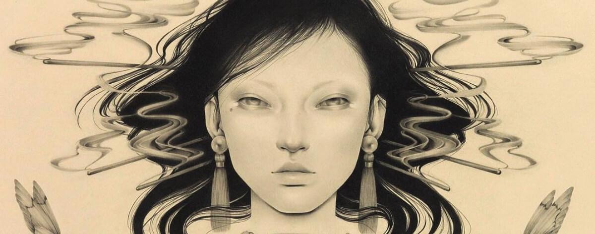 Ozabu Are y sus misteriosos retratos de mujeres