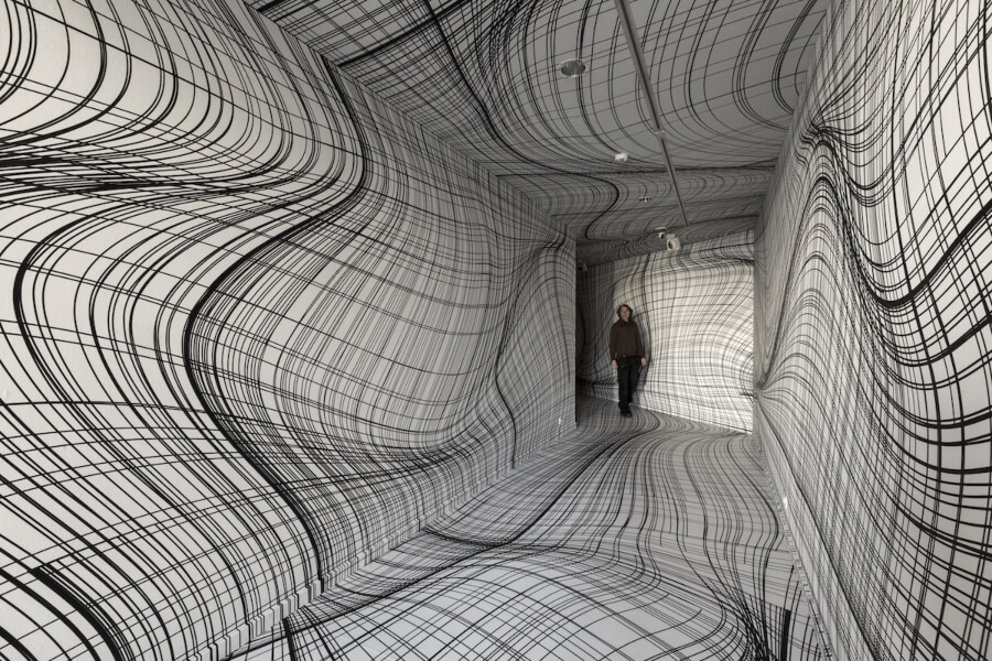 Peter Kogler instalación