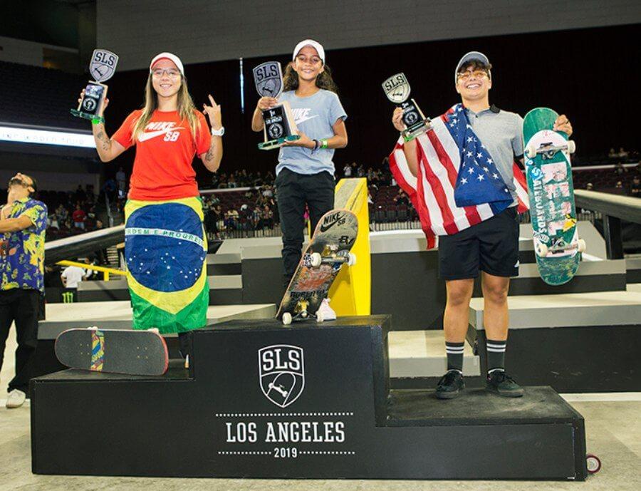 Ganadoras femenil SLS