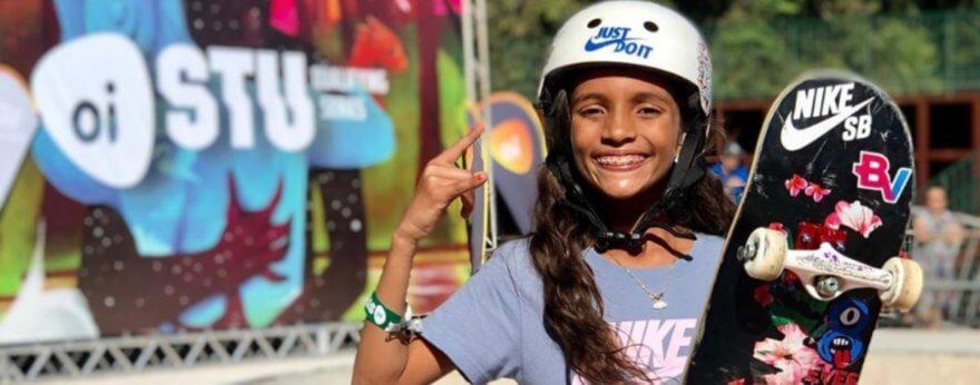 Rayssa Leal la ganadora más joven de los SLS