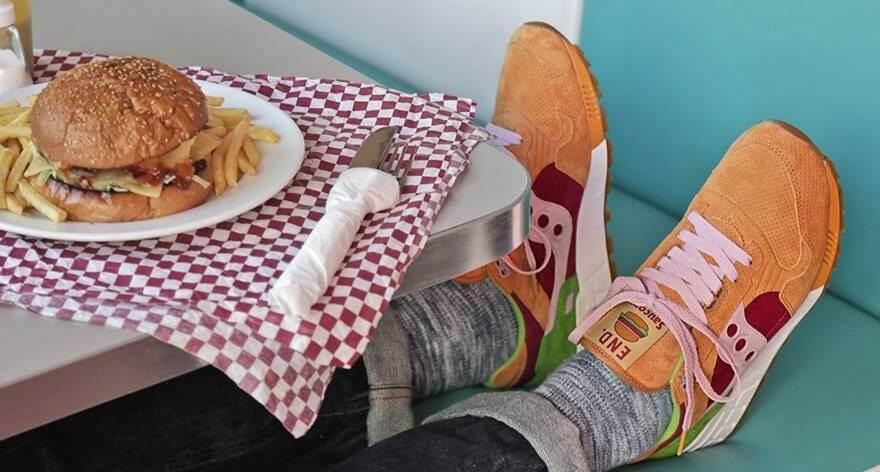 Los mejores sneakers con inspiración en comida