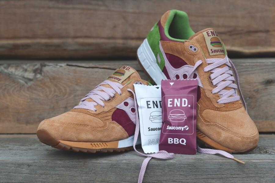 Sneakers con inspiración en comida