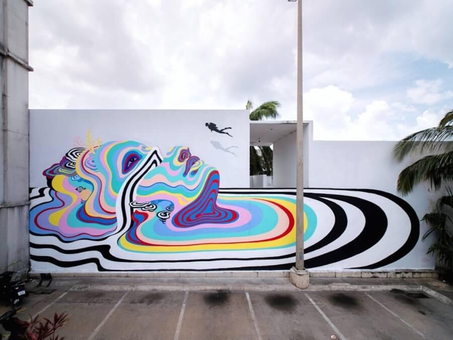 street art al rescate de los océanos