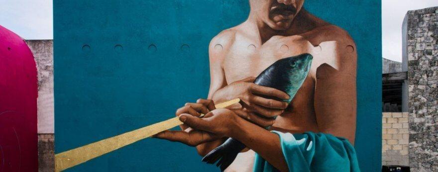 Sea Walls Festival Cozumel, street art y rescate de los océanos