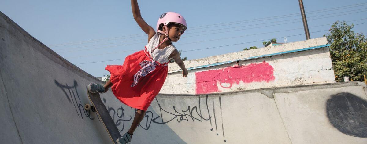 Skater girls in India break gender stereotypes
