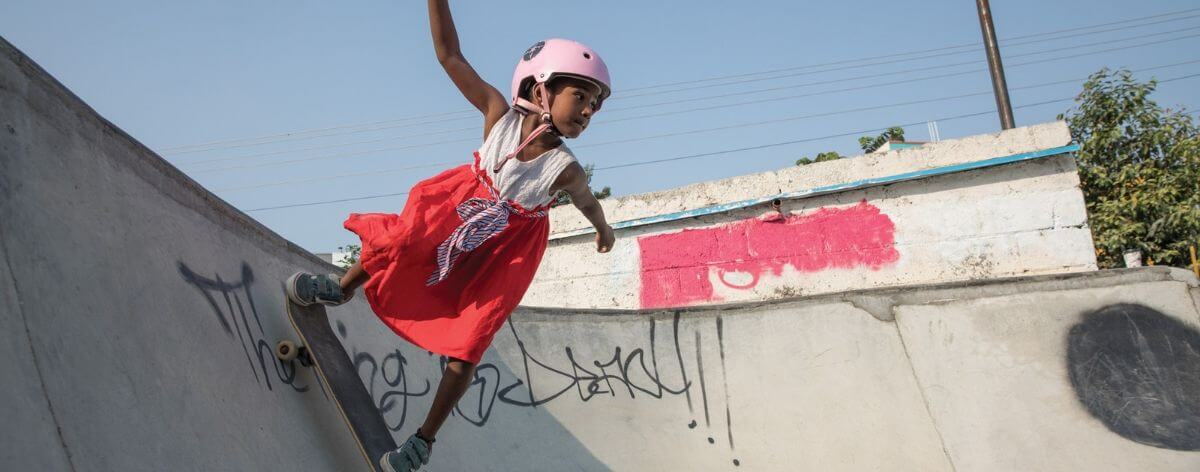Girls skate en India rompen estereotipos de género