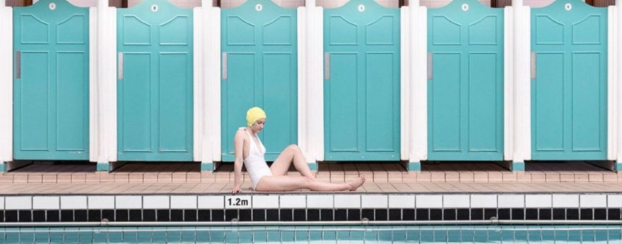 Soo Burnell y su serie fotográfica de albercas