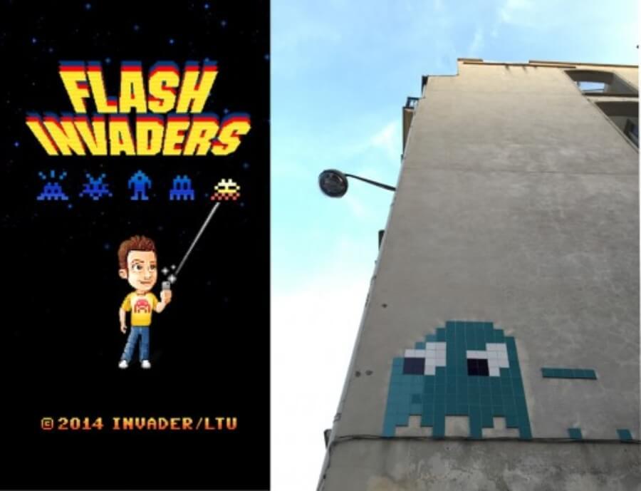 Space Invader y sus mejores 10 obras