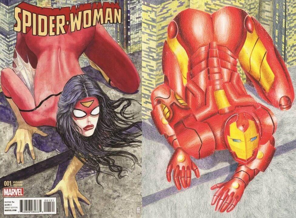 Comics en contra del sexismo por Shreya Arora