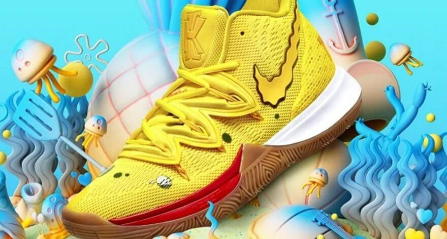 Kyrie Irving and Nike launch SpongeBob new merch