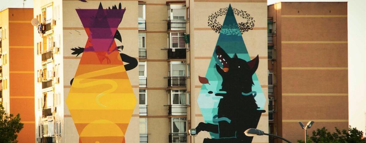 Street art en Madrid y Barcelona tiene guía interactiva