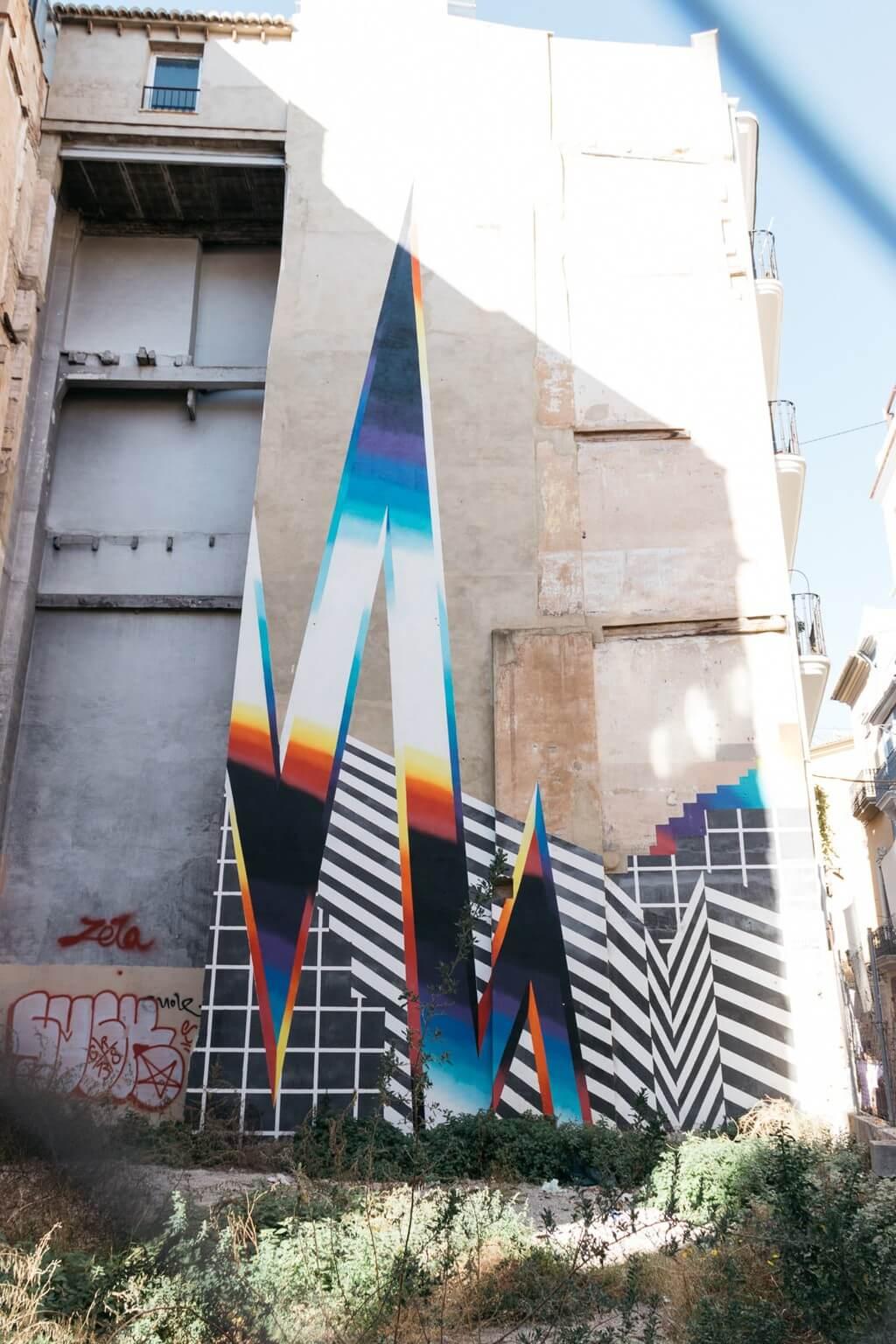 festival de arte urbano en Valencia