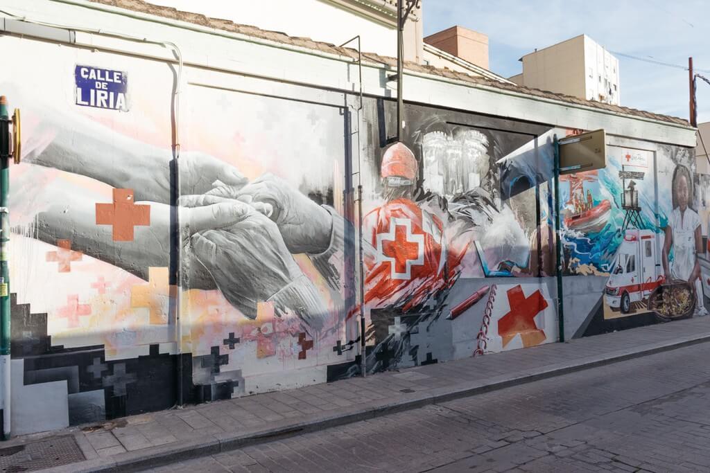 Festival de arte urbamo en Valencia
