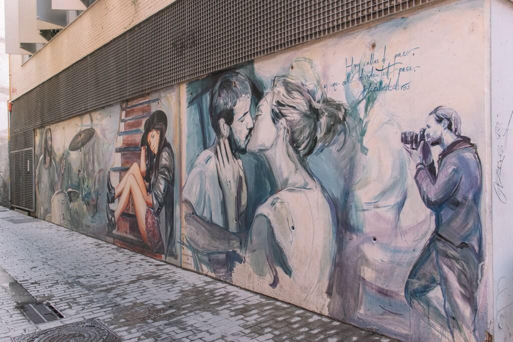 street art en Valencia, España