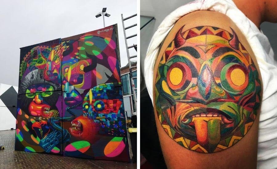 Tatuajes inspirados en el graffiti