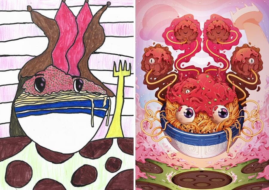 The monster project reune a alumnos de primaria y artistas de todo el mundo