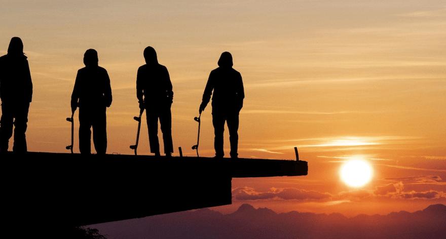 The Nature of Skateboarding skate al natural