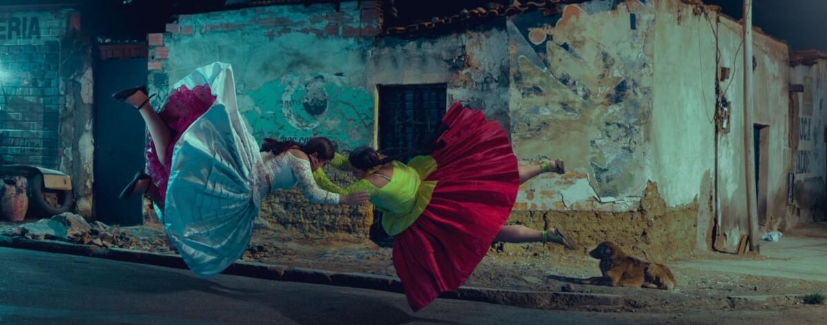 Todd Antony y sus fotografías de 'Cholitas luchadoras'