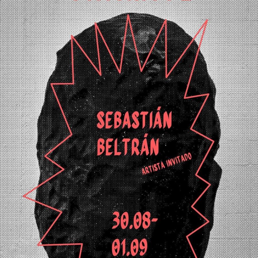 Sebastián Beltrán en el festival